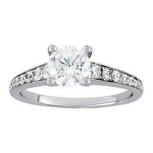 14K Gold 1.064 ctw Round Diamond Ring.  Brand New!   Fe