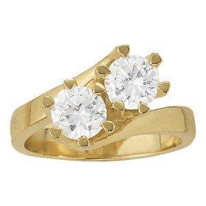 14K Gold 1.6 ctw Round Diamond Ring.  Brand New!
