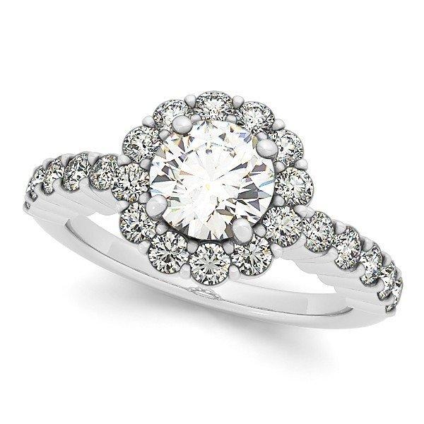 14K Gold 2.105 ctw Round Diamond Ring.  Brand New!   Fe