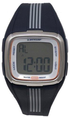 Synthetic case, Silicone strap, Digital dial, Quartz mo