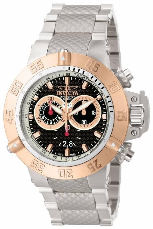 Invicta  Men's 10192 Subaqua Quartz Chronograph Black D