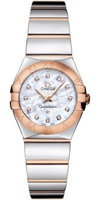Omega Constellation Polished Quartz 24mm Women's Watch