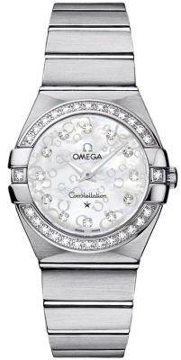 Omega Constellation Brushed Quartz 27mm Women's Watch