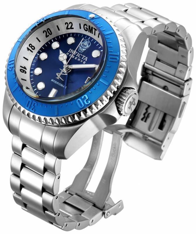Invicta Men's 16971 Hydromax Quartz 3 Hand Blue Dial Wa