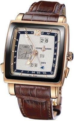 Ulysse Nardin Quadrato Dual Time Perpetual Men's Watch