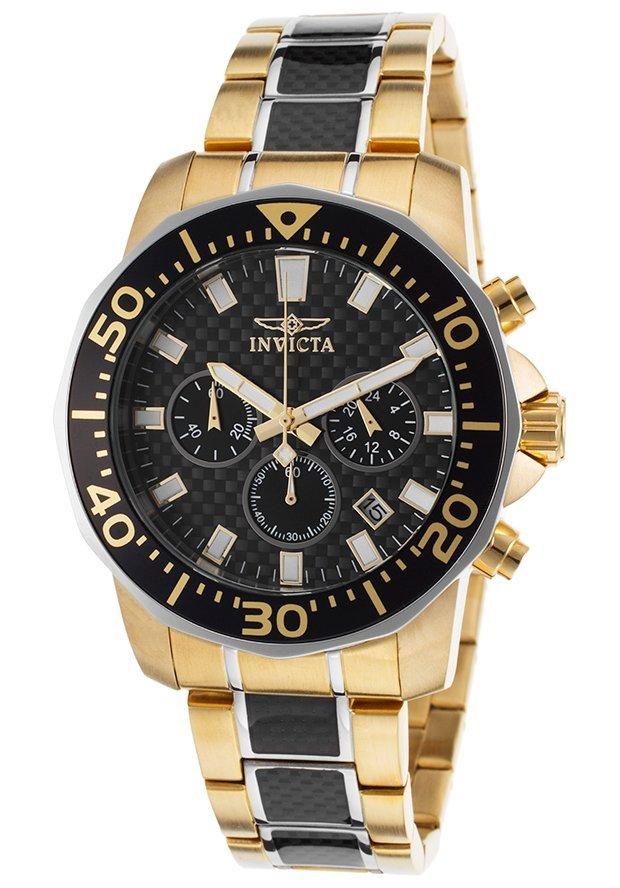 Invicta Men's 17254 Pro Diver Quartz Chronograph Black