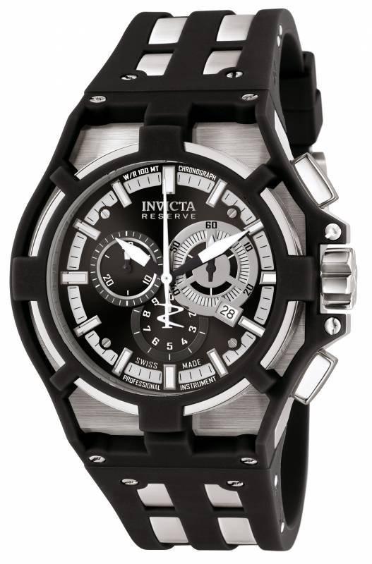 Invicta Men's 0636 Akula Quartz Chronograph Black Dial