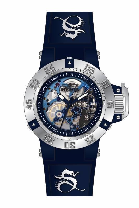 Invicta Women's 17135 Subaqua Mechanical 3 Hand Blue Di