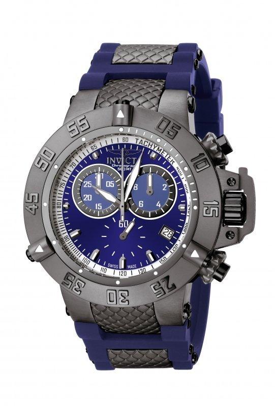 Invicta Men's 5509 Subaqua Quartz Chronograph Blue Dial