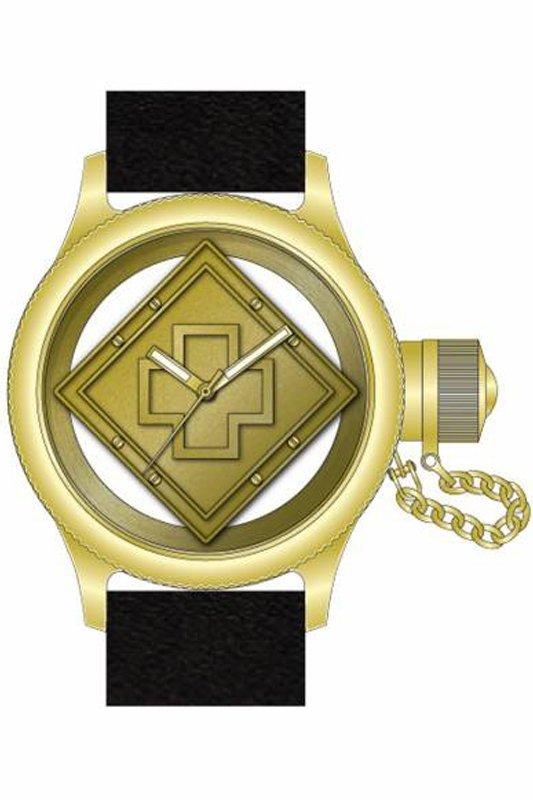Invicta  Men's 14775 Russian Diver Quartz 3 Hand Gold D