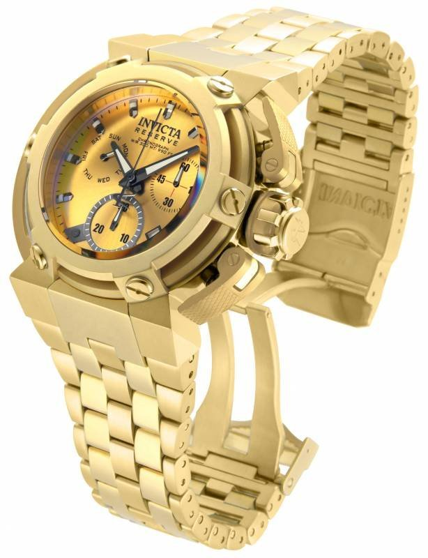 Invicta Men's 18337 Reserve Quartz Chronograph Gold Dia