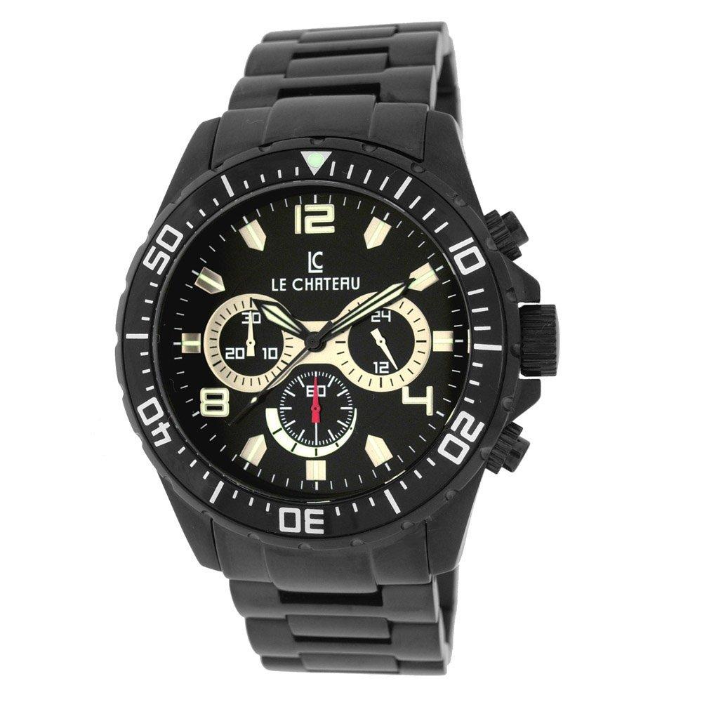 This Le Chateau chronograph Timepiece symbolizes qualit