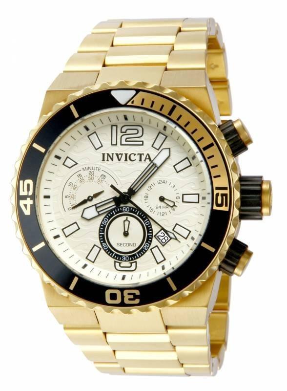 Invicta Men's 80243 Pro Diver Quartz Chronograph Champa