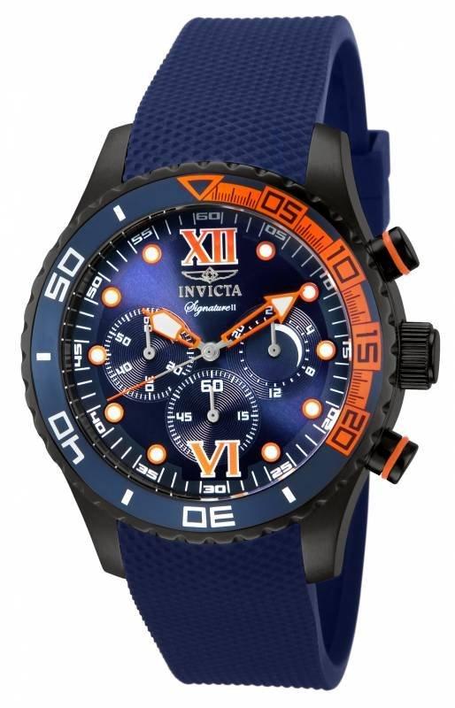 Invicta Men's 7506 Signature Quartz Chronograph Blue Di