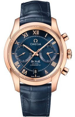 Omega De Ville Prestige Co-Axial Chronograph Men's Watc