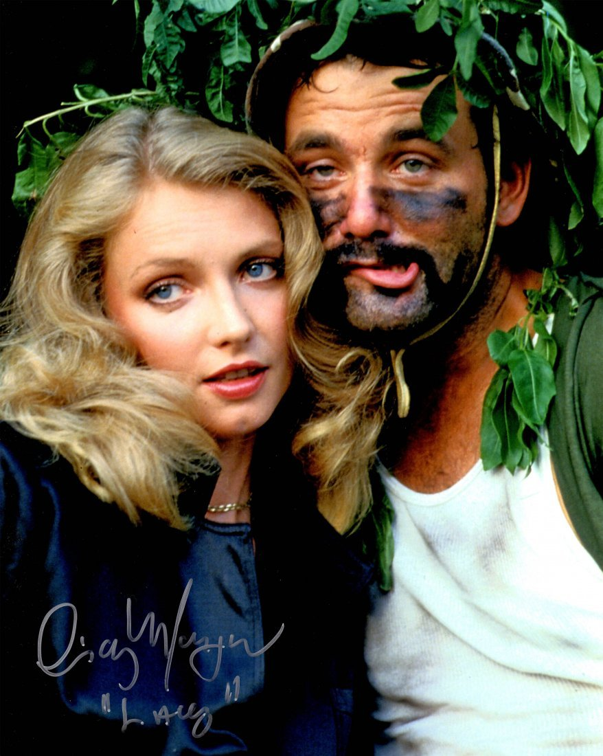 Cindy Morgan signed Caddyshack with Bill Murray 8x10 ph