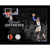 Carmelo Anthony New York Knicks Game Used Net  Game Us