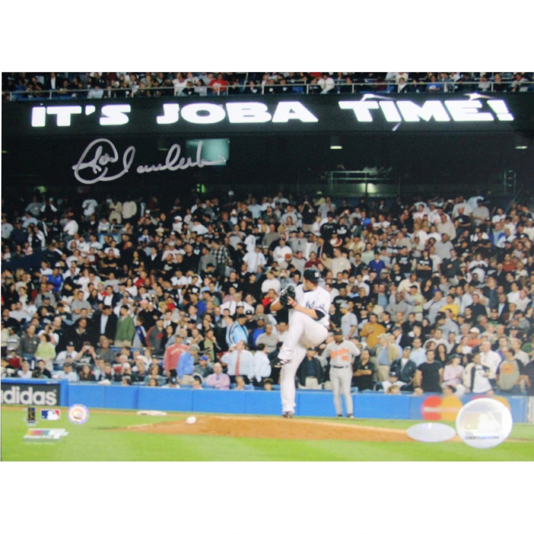 "Joba Chamberlain ""Joba Time"" 8x10 Photo (MLB Auth)"
