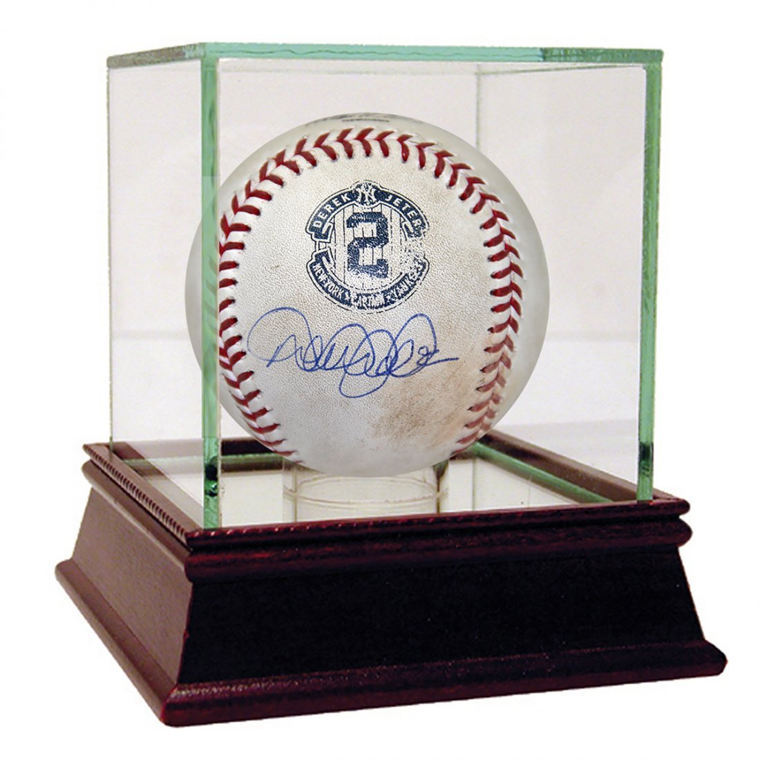 Derek Jeter Signed Orioles at Yankees 9-24-2014 Game Us
