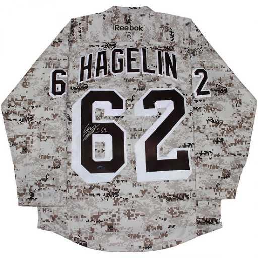 Carl Hagelin Signed New York Rangers Camo Jersey 93618ad070c