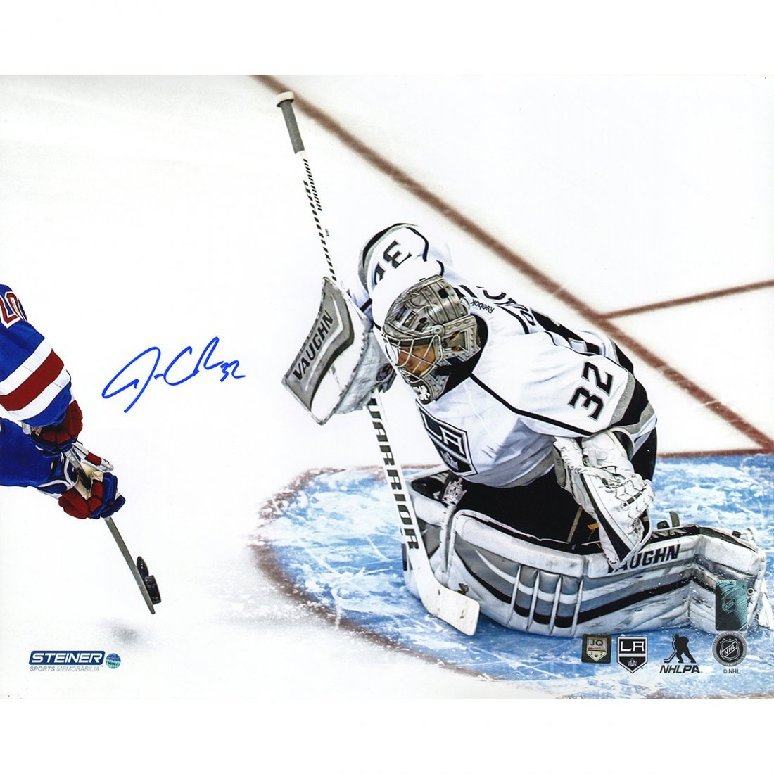 Jonathan Quick Signed 2014 Stanley Cup Save 16x20 Photo