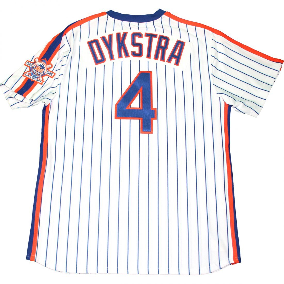 1986 Lenny Dykstra Mets Mitchell & Ness Authentic Jerse