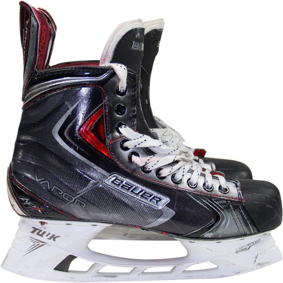 Kevin Klein Skates - New York Rangers Game Used #8 Skat