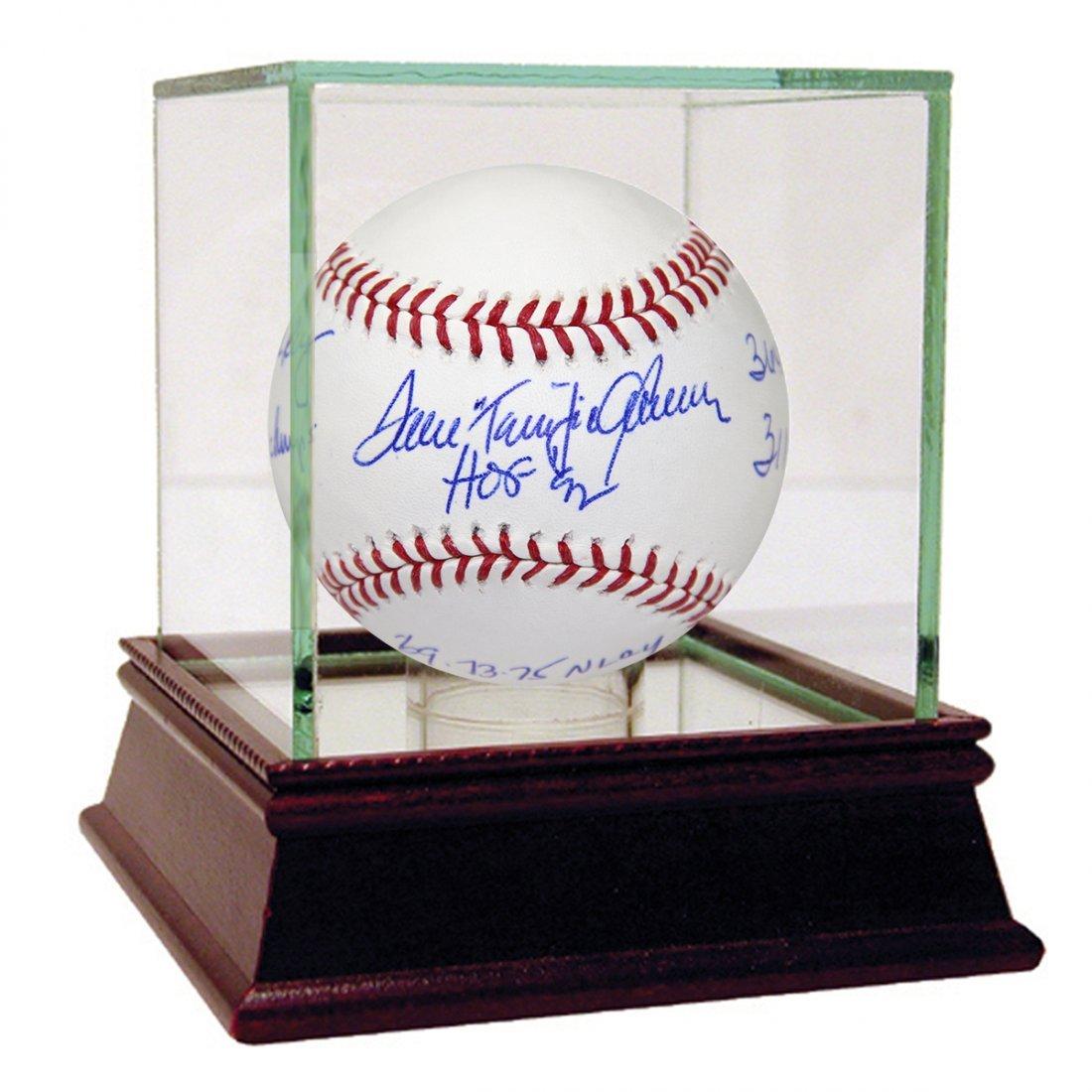 """Tom """"Terrific"""" Seaver Signed MLB Baseball w/ """"HOF 92, 6"""