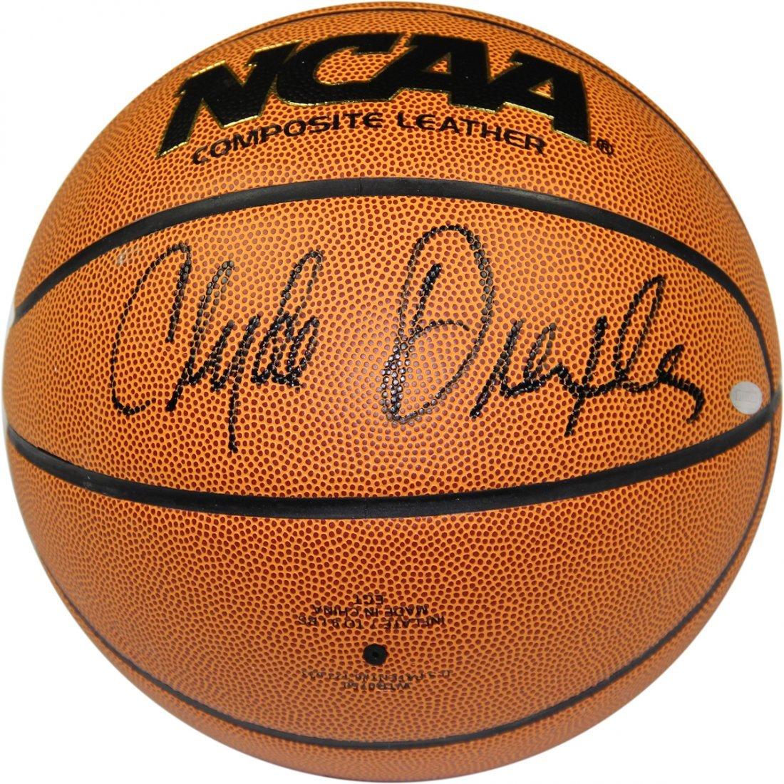 Clyde Drexler Signed NCAA I/O Basketball