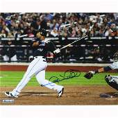 Gary Sheffield New York Mets 500th Career HR Signed 8x1