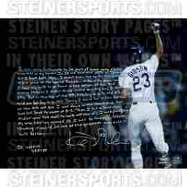 Kirk Gibson Signed Homerun 16x20 Story Photo