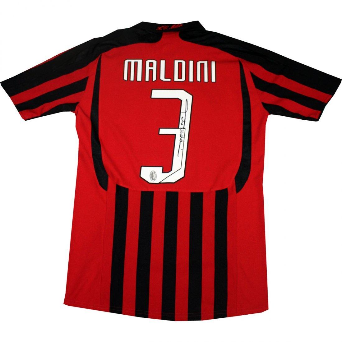 Paolo Maldini AC Milan Jersey Shirt in UCL packaging (I