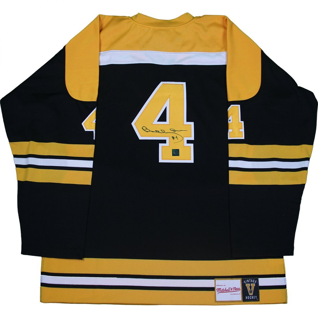 Bobby Orr Boston Bruins Signed Mitchell & Ness Jersey: