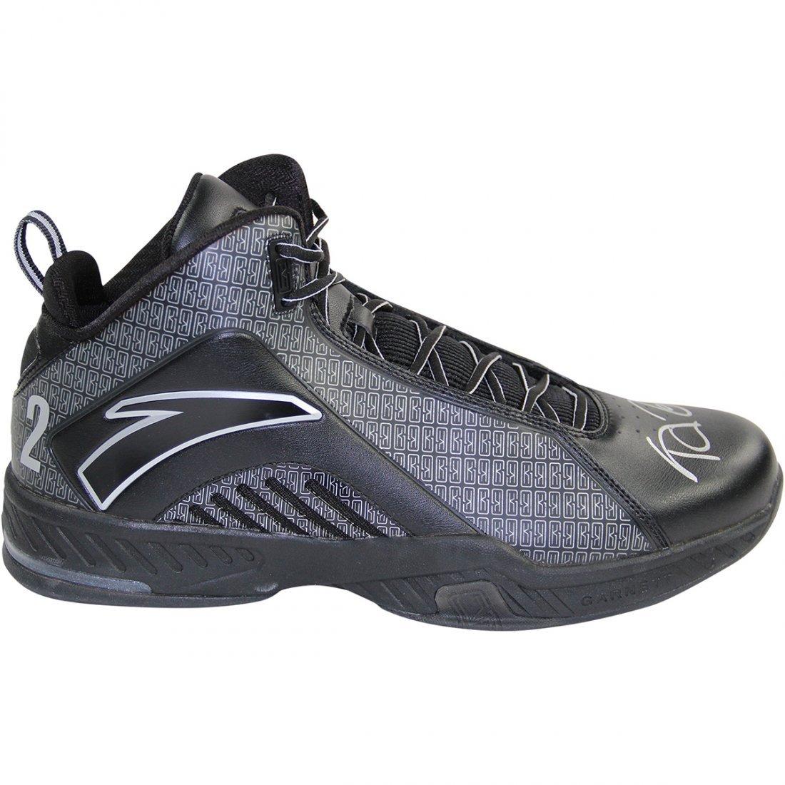 Kevin Garnett Signed Game Issued Shoes - Anta KG3 Black