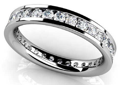 14KT Gold 1.45 ct Diamond Ring Featuring 3.3 Grams of 1