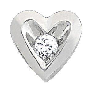 14K Gold 0.25 ctw Round Diamond Pendant.  Brand New!