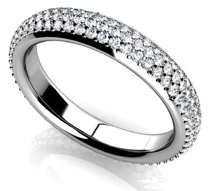 14KT Gold 1.92 ct Diamond Ring Featuring 7.1 Grams of 1