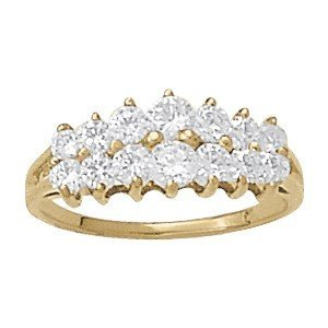 14K Gold 0.24 ctw Round Diamond Ring.  Brand New!