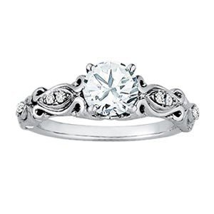 14K Gold 2.07 ctw Round Diamond Ring.  Brand New!   Fea