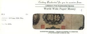 2011: Uncirculated Banknotes From Around the World for