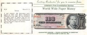 2014: Uncirculated Banknotes From Around the World for