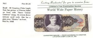 2016: Uncirculated Banknotes From Around the World for
