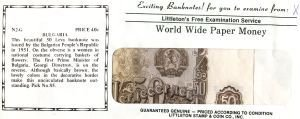2017: Uncirculated Banknotes From Around the World for