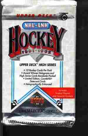 Lot of Older Sports Card Hockey Wax Packs