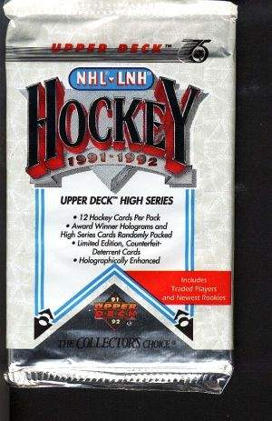 Lot of Older Sports Cards Hockey Wax Packs