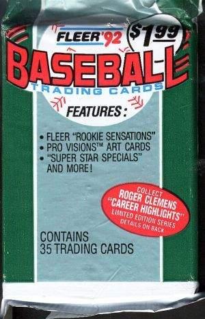 Lot of Older Sports Card Baseball Wax Packs