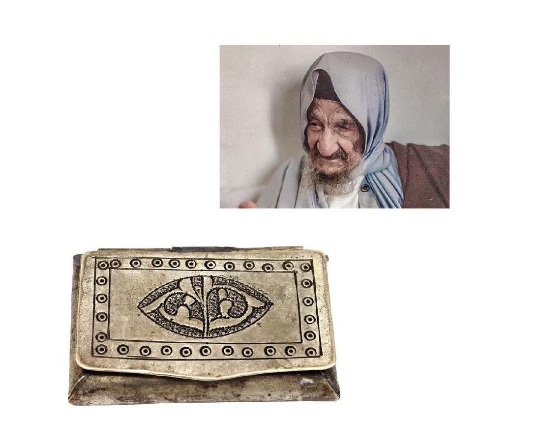 Rare and historic item! The tobacco case of the Sidna