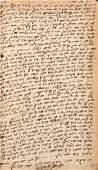 Manuscript chiddushei Maharam Shik, in his holy hand.