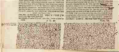 A Volume of the Babylonian Talmud with Glosses and