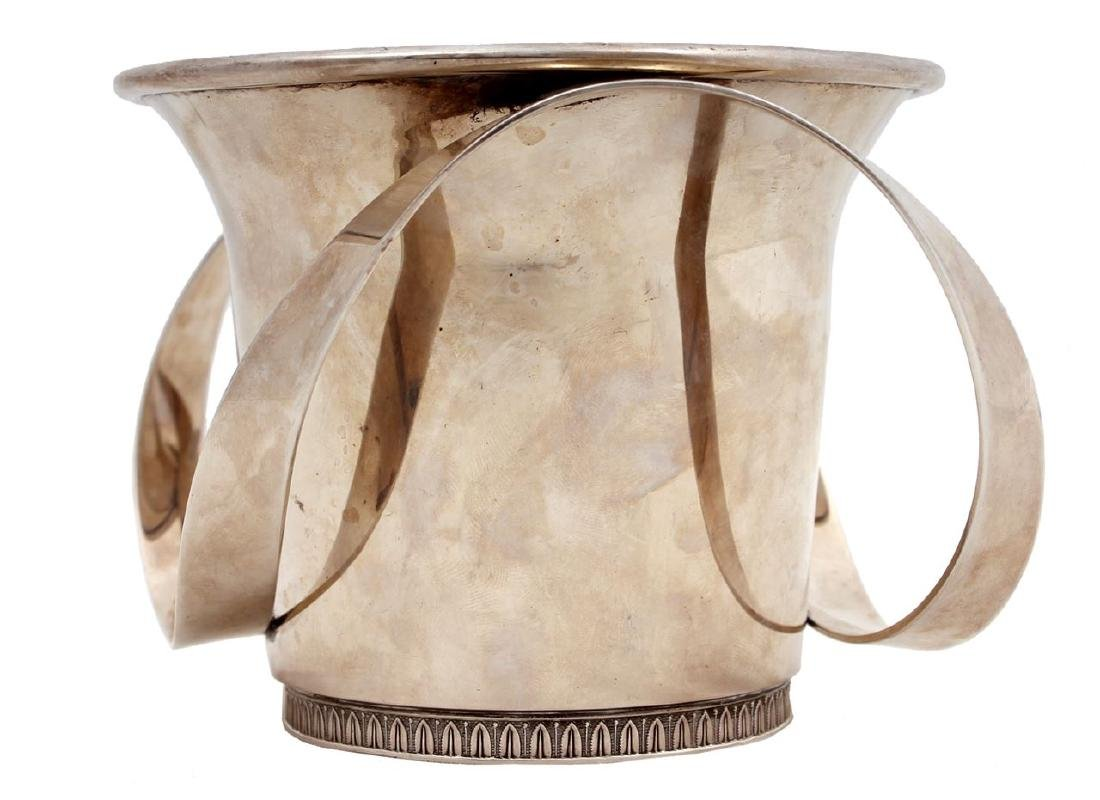 Designed silver washing cup. Israel, 1999.